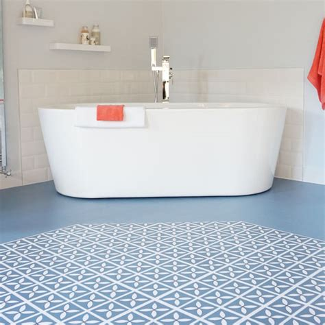 cornflower blue bathroom lattice cornflower blue flooring design by dee hardwicke