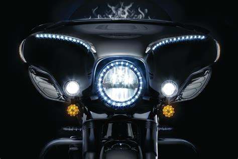 harley davidson driving lights fairing mounted driving lights with turn signals