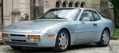 porsche 944 blue 1989 porsche 944 s2 glacier blue metallic 5 speed 111k