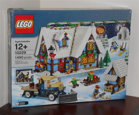 lego 10229 winter village cottage 1490 pieces new in