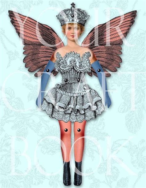 vintage paper doll digitial download by yourcraftephemera 17 best images about paper doll jointed on pinterest
