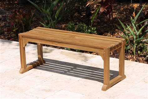 backless benches for sale sale java 48in backless teak bench oceanic teak furniture