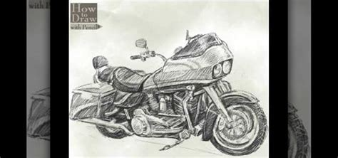 How To Draw A Harley Davidson Road Glide 171 Drawing