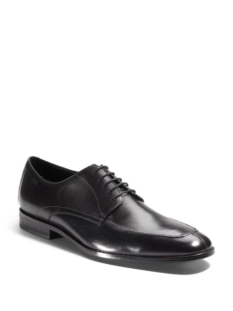 hugo oxford shoes hugo mirano moctoe oxford dress shoes in black for