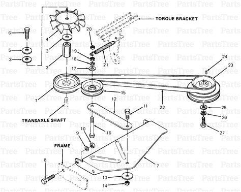 1046 cub cadet mower diagram cub cadet lt1046 wiring
