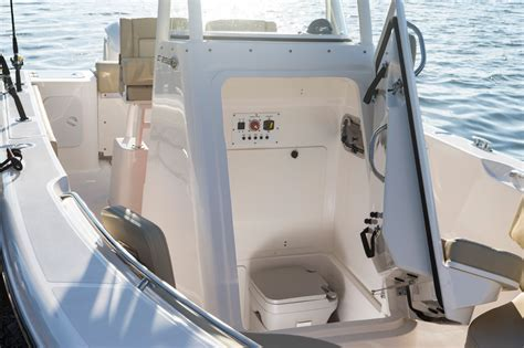 deck boat with head pursuit boats c 238 center console
