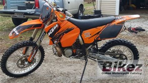 Ktm 300 Mxc 2005 Ktm 300 Mxc Specifications And Pictures
