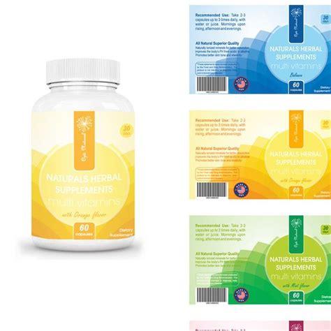 label x design vitamin bottle label design www pixshark com images