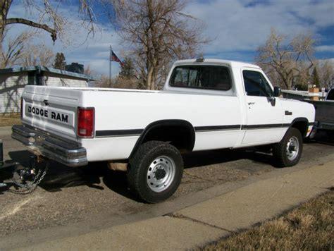 1993 dodge ram 250 cummins turbo diesel 1993 dodge ram w 250 cummins turbo diesel 4x4 manual 5