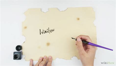 How To Make Paper Look Like A Scroll - how to make a paper scroll 13 steps with pictures wikihow