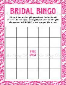 bridal shower bingo templates free printable bridal shower bingo new calendar template