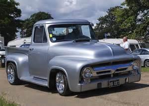 1955 ford classic and custom trucks