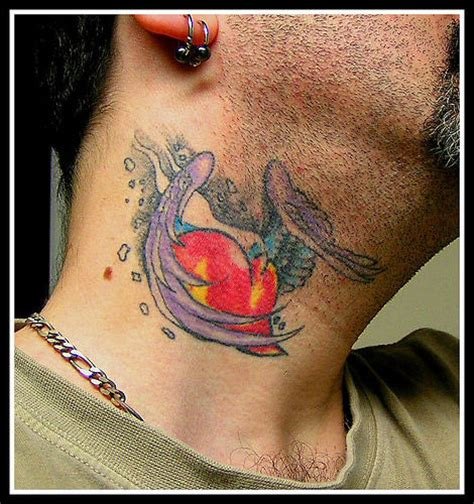 body tattoo neck neck tattoos page 13