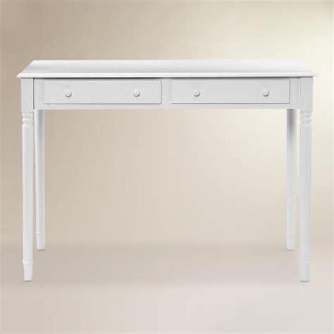 White Wood Farran Writing Desk World Market White Wood Writing Desk