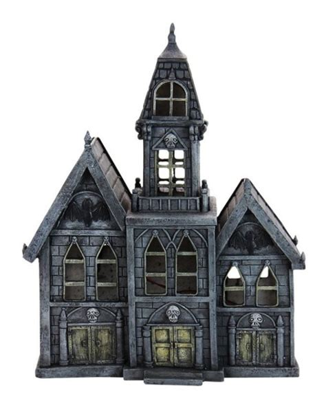 light up haunted house decoration light up haunted house shop collectibles online daily