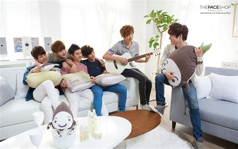 kpop exo k exo k for the face shop kpop wallpaper 31910707 fanpop