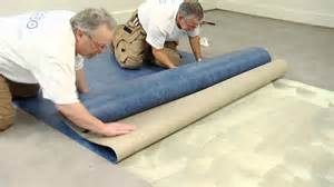Installing Vinyl Sheet Flooring Forbo Marmoleum Sheet Installation
