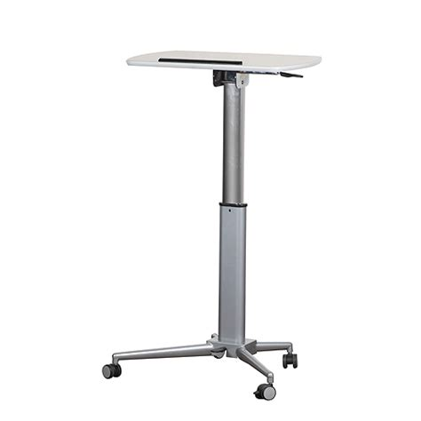 sit stand lectern height adjustable expo table for sale