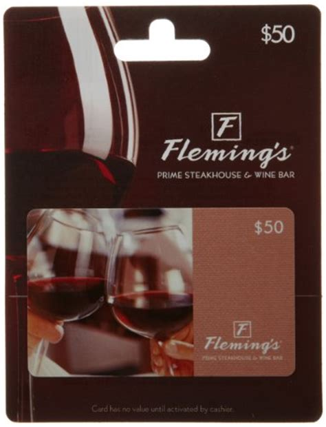 Flemings Gift Card - fleming s gift card 50 shop giftcards