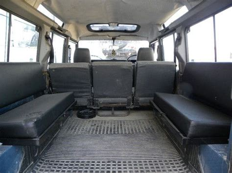 sw buggy seats sell used 1985 land rover defender 110 sw 200tdi 9 seats