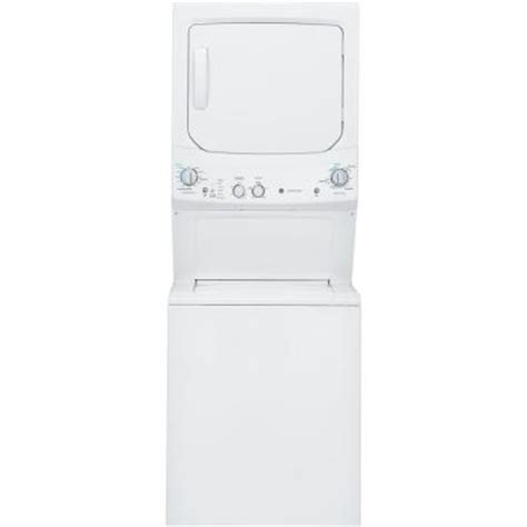 ge spacemaker washer and gas dryer in white gud27gssjww