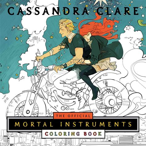 best mortal instruments book the official mortal instruments coloring book book by
