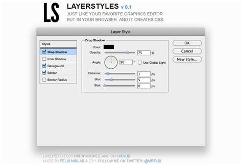 css layout web application design css with this adobe style web app editor hongkiat