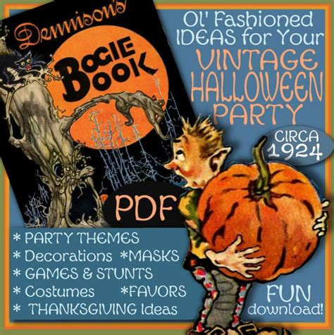 book themes pdf bogie book pdf dennison 1924 halloween 1920s party planner