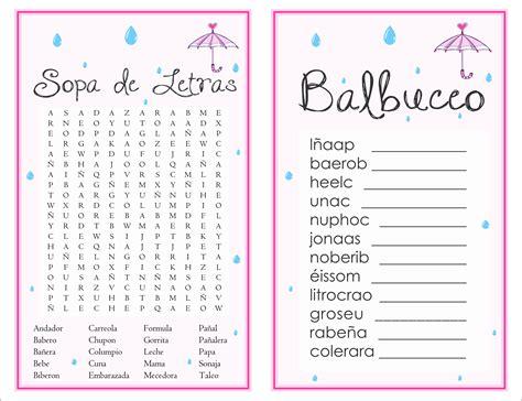 sopa de letras de baby shower para imprimir gratis apexwallpapers 2 in 1 games sopa de letras and balbuceo baby shower april