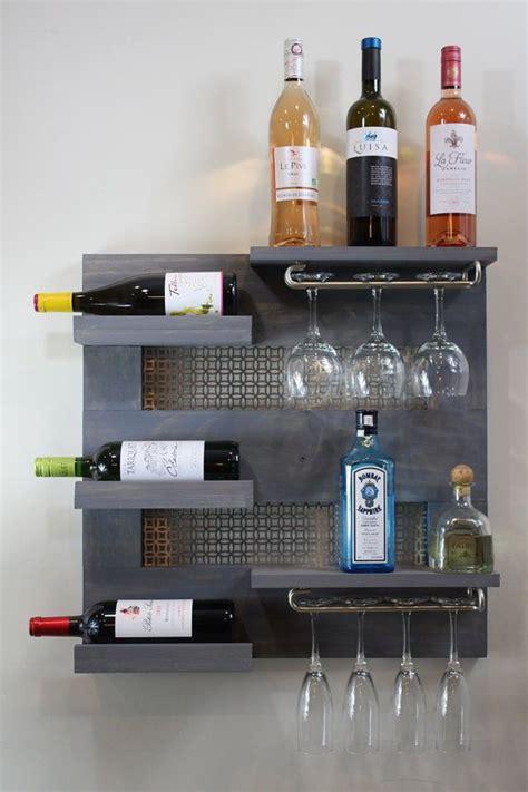 Modern Wall Mounted Wine Rack by 25 Best Ideas About Modern Wine Rack On Wine