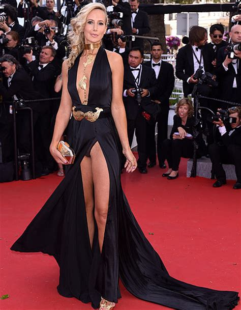 hervey exposes in cannes wardrobe