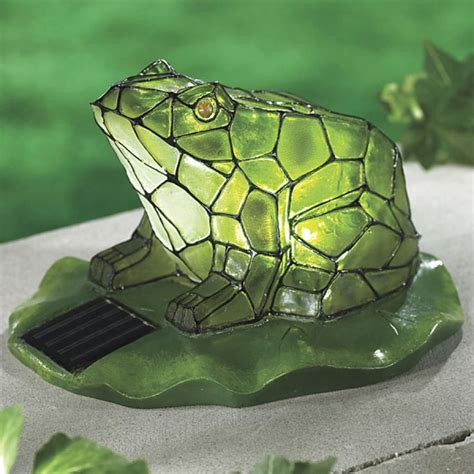 Solar Light Frog Days Outdoors Pinterest Solar Frog Light
