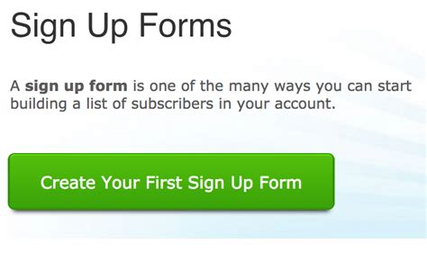How To Add A Sidebar Signup Form To Your Blog With Aweber Aweber Signup Form Templates