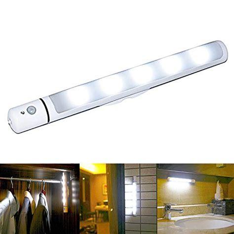 led light bar with motion sensor echeng motion sensor light battery powered wireless