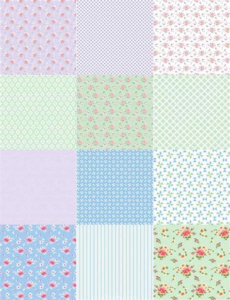 Patchwork Sheets - edible icing sheet patchwork blue green design