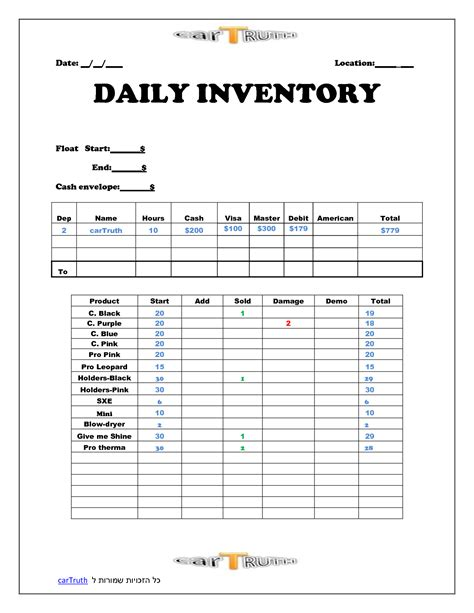 sle of inventory report daily sales report template aplg planetariums org