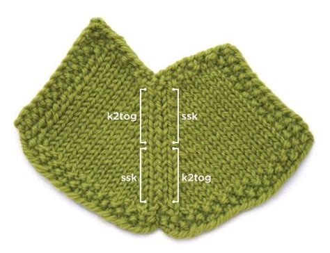 knitting decreases in the 1000 images about knitting decrease increase on