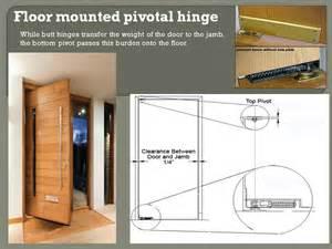Interior Door Hinge Installation Floor Mount Pivot Hinge