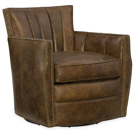 Hooker Furniture Club Chairs Carson Swivel Club Chair Club Chairs Swivel