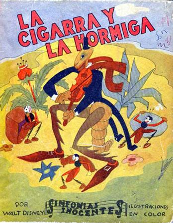la cigarra y la 8484834344 la cigarra y la hormiga sinfon 237 a inocente 1936 antoniorrobles