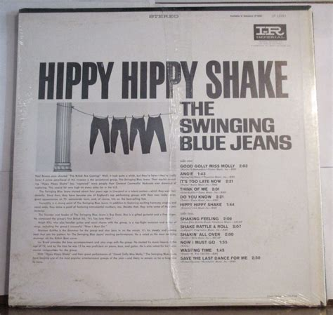 the swinging blue jeans hippy hippy shake roots vinyl guide