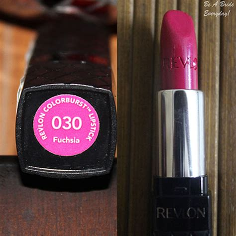 Lipstik Revlon Colorburst revlon colorburst lipstick 030 fuchsia review