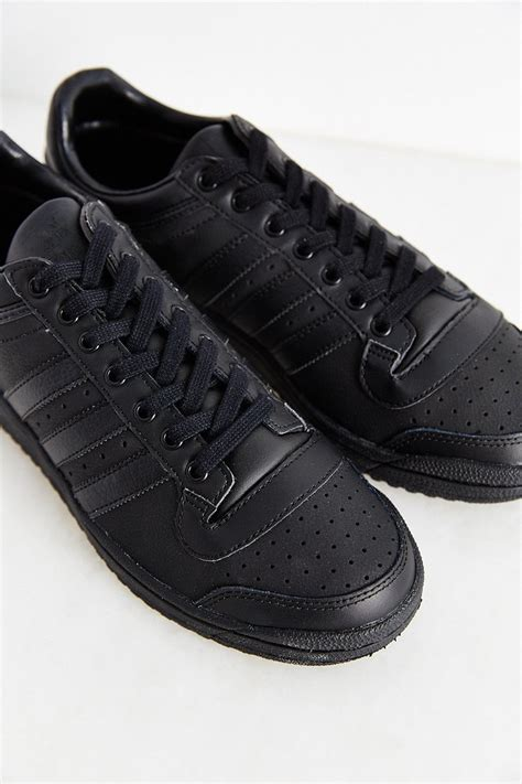 top 10 sneakers adidas originals originals top ten low sneaker in black lyst
