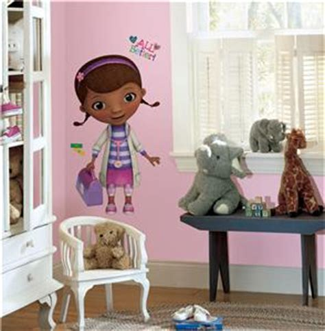 doc mcstuffin bedroom accessories new giant doc mcstuffins wall decals disney stickers girls bedroom decor ebay