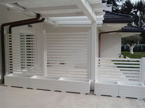 fioriere in alluminio per esterni grigliati bianchi per giardino profilati alluminio