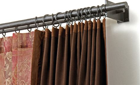 where to hang curtain rod are there double rod systems to hang curtains from the