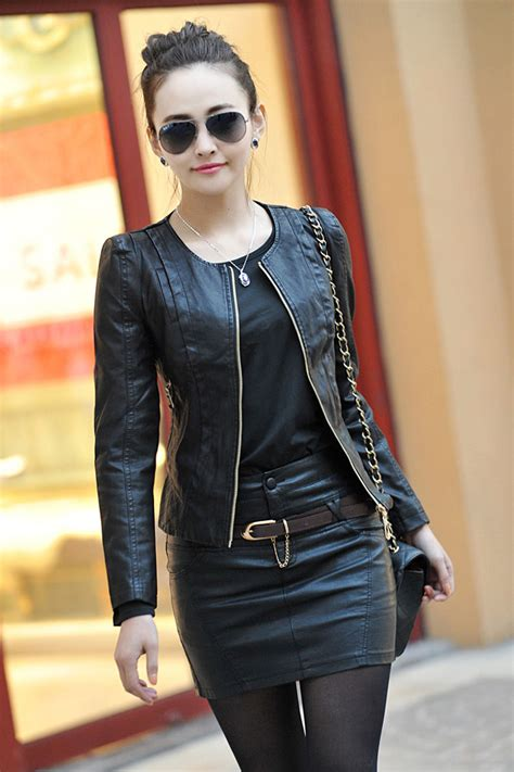 2014 s leather clothing design