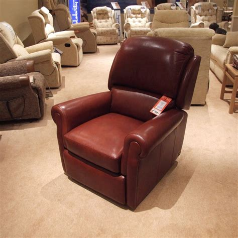 clearance recliners sherborne carnforth leather recliner clearance