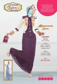 Polka Gamis Combine tuneeca a tribute to the