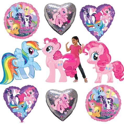 Balon Foil Pony Pink my pony pinkie pie rainbow dash foil balloons